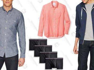 Amazon's Running A Big Sale On Two of Its Own Menswear Brands