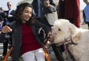 Victory For Girl With Cerebral Palsy After Her Service Dog Is Banned From School