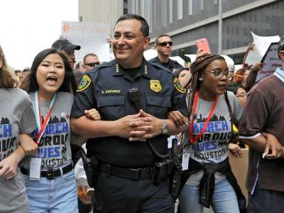 Houston police chief sounds off on gun control and mass shootings in the wake of the Santa Fe High School massacre