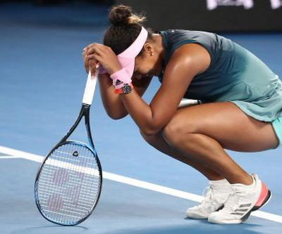 Naomi Osaka cried as she won her second grand slam in a row, becoming the first Asian world number one