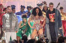 Cardi B Delivers Electric Performance of 'I Like It' With Bad Bunny & J Balvin at 2018 AMAs: Watch