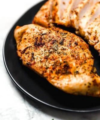Perfect Air Fryer Chicken Breast -No Breading!