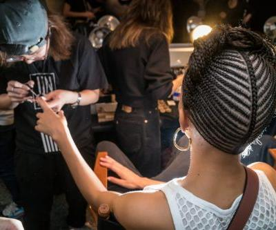 Alexander Wang's Latest Runway Beauty Look Featured 'Bull-Whip' Ponytails, Cornrows and Wet-Looking Hair