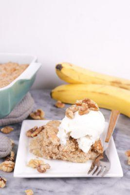 Banana Bread Dump Cake Recipe