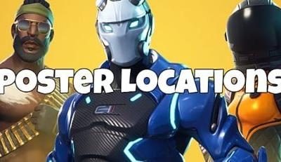 Fortnite Poster Locations Complete Challenge Guide