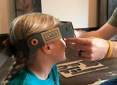 Thanks to Nintendo Labo, my daughter can be Optimus Prime