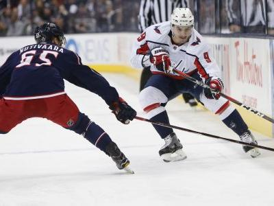 Caps top Blue Jackets 4-1 to even series at 2 games each