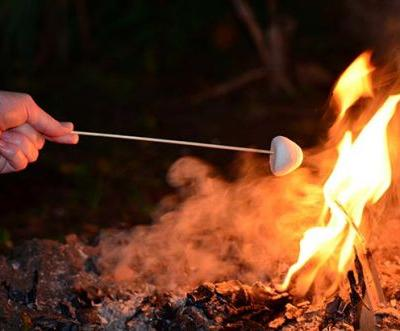 Potatoes, s'mores and sausages: Cooking camp-out style