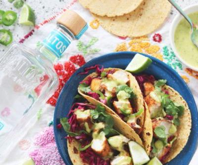 Tequila & Tacos: Coconut Tequila Lime Fish Tacos for Cinco de Mayo