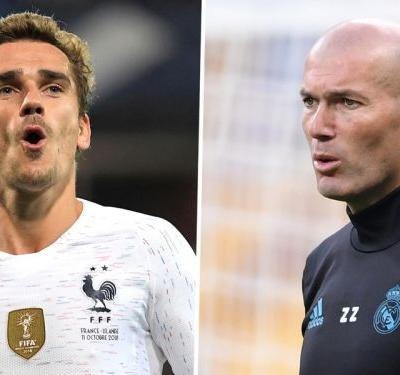 Griezmann would love Zidane to become France manager