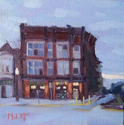 Rusty Dog Irish Pub Original Oil Painting and Prints Heidi Malott Art
