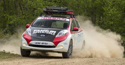 An EV Adventurer Is Driving The Mongol Rally In A Nissan Leaf