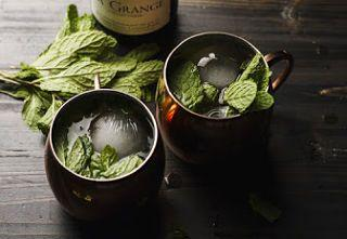 """Low-Carb """"White"""" Mint Julep"""