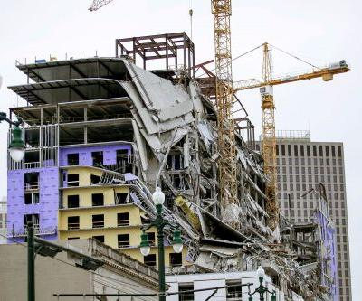 Hard Rock Hotel New Orleans construction site collapse kills one, several others missing