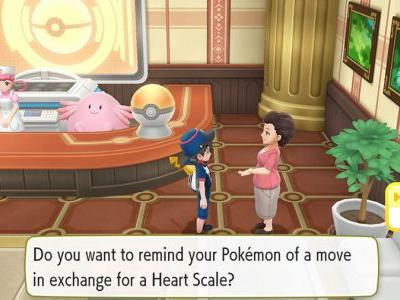 What To Do With Heart Scales In Pokemon Let's Go