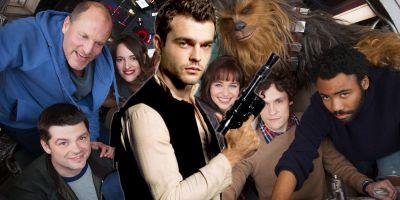Who's Who in the Han Solo Cast Photo?
