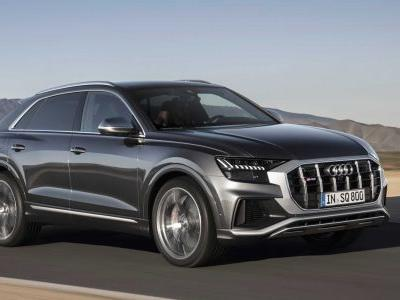 Audi SQ8 Revealed With 429 hp Turbo Diesel V8