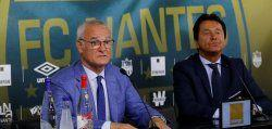 Ranieri to leave Nantes at end of season