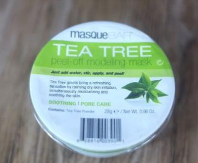 Not For Me: MasqueBAR Tea Tree Modeling Mask Review
