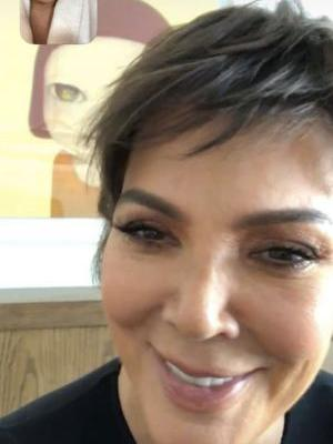 Kylie Jenner Trolls Kris by Wearing a Wig Exactly Like Her Pixie Cut