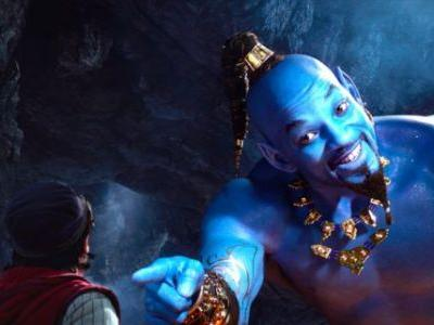 'Aladdin' Footage Features Will Smith Rapping as the Genie