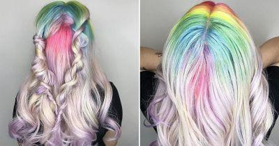 Lime Crime is teasing us with their do-it-yourself Unicorn Hair dye and we're in love