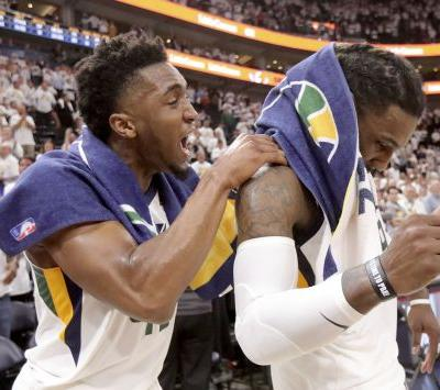 Toughness: Crowder's start, Mitchell's finish help Jazz extend playoff series