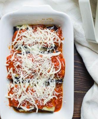Cheese-Filled Eggplant Rollatini