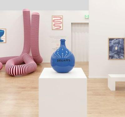 Inside David Shrigley and Ruinart's Space at Frieze London
