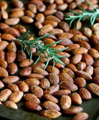 Roasted Almonds with Smoked Paprika & Rosemary Recipe