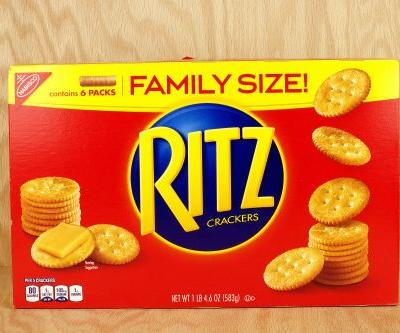 Some Ritz cracker products recalled over salmonella risk