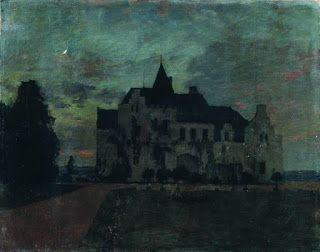 Isaac Levitan, Twilight. A Castle