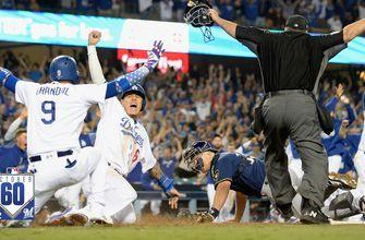Watch the best 60 seconds from Brewers vs. Dodgers NLCS Game 4 | October60