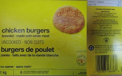 'No Name' frozen chicken recalled in Canada amidst outbreak