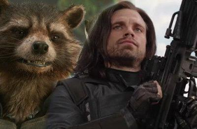 Rocket Raccoon Tries to Buy Bucky's Arm In Avengers: