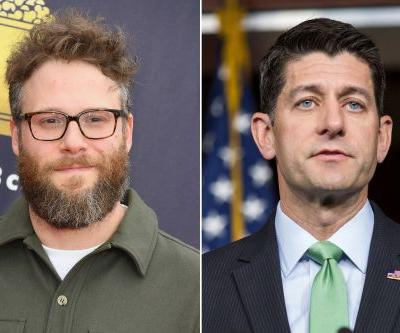 Seth Rogen refused to take a picture with Paul Ryan