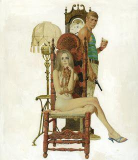 Illustration Techniques of Robert McGinnis