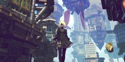 Get a closer look at Gravity Rush's NieR: Automata homage