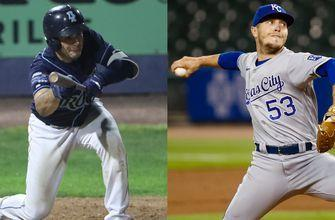 Royals option Rivero, Zuber to Triple-A Omaha