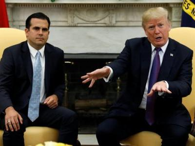 Trump Gives Himself 'A 10' Out Of 10 On His Response To Puerto Rico
