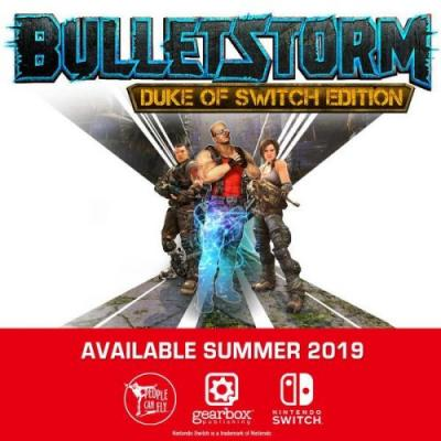 Bulletstorm: Duke of Switch Edition heading to Switch