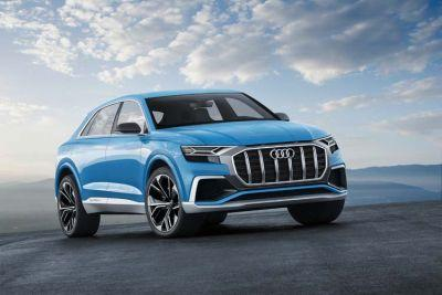 Audi Q8 concept - Full-size SUV In Coupe Design