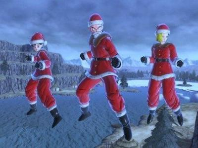 Holiday Spirit and Broly's Strength Overtake These Dragon Ball Xenoverse 2 Screenshots