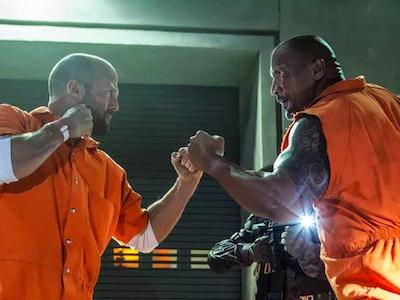 The Rock's New Hobbs And Shaw Cast Photo Is The Most Badass Yet