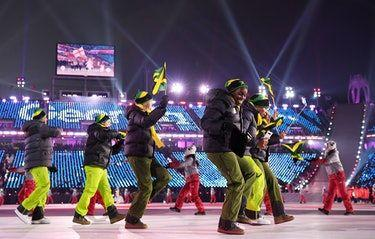 Jamaica's Opening Ceremony Uniforms Were Bomb & The Team Was Clearly Feeling Them