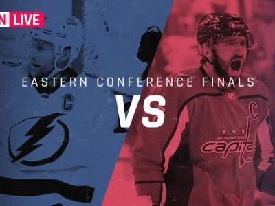 Capitals vs. Lightning: Live score, updates from Game 4 of Eastern Conference finals