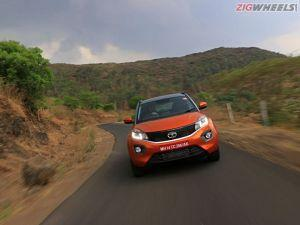 Tata Nexon Facelift Spied For The First Time