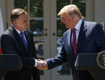 Trump says he's sending 1,000 more US troops to ally Poland