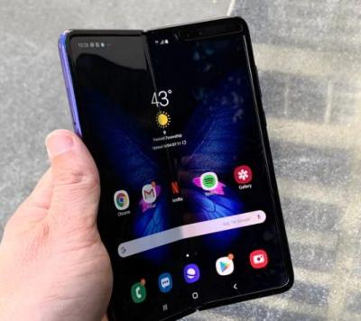 Please NEVER remove the protective film from Samsung Galaxy Fold display