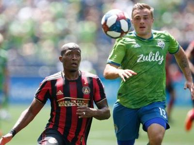 Sounders sink Atlanta Utd to go second in West